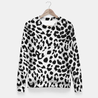 Thumbnail image of leopard Fitted Waist Sweater, Live Heroes