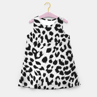 Thumbnail image of leopard Girl's Summer Dress, Live Heroes