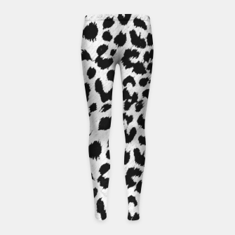 Thumbnail image of leopard Girl's Leggings, Live Heroes