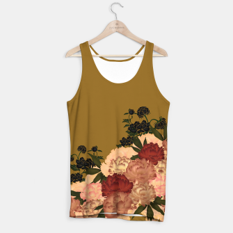 Miniaturka Japanese style peony decoration yellow Tank Top, Live Heroes