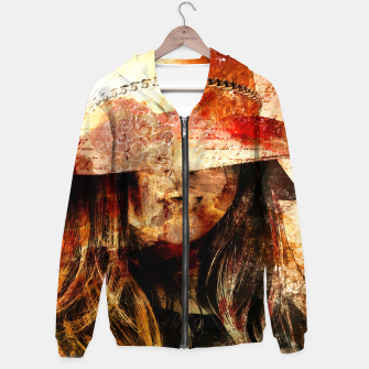 Thumbnail image of Collage LXIX Cotton zip up hoodie, Live Heroes