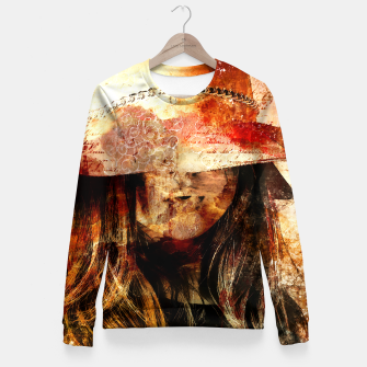Thumbnail image of Collage LXIX Woman cotton sweater, Live Heroes