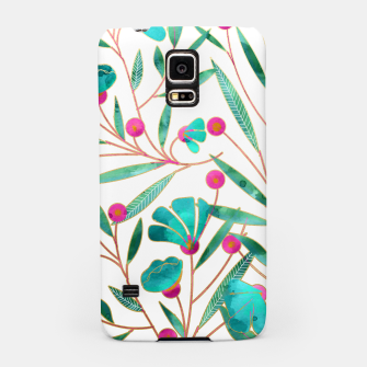 Thumbnail image of Turquoise Floral Samsung Case, Live Heroes