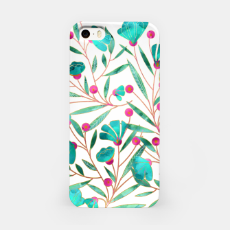 Thumbnail image of Turquoise Floral iPhone Case, Live Heroes