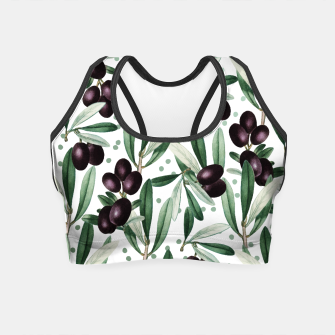 Thumbnail image of Sour Grapes V2 Crop Top, Live Heroes