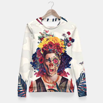 Thumbnail image of Floral Man Fitted Waist Sweater, Live Heroes
