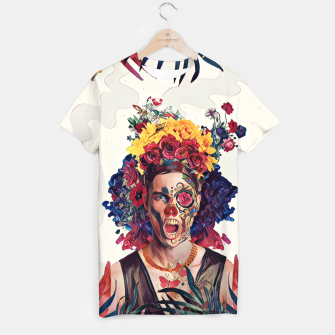 Thumbnail image of Floral Man T-shirt, Live Heroes