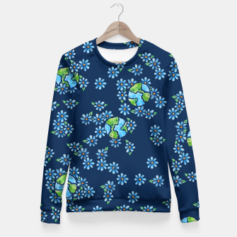 Thumbnail image of Earth Day  Fitted Waist Sweater, Live Heroes
