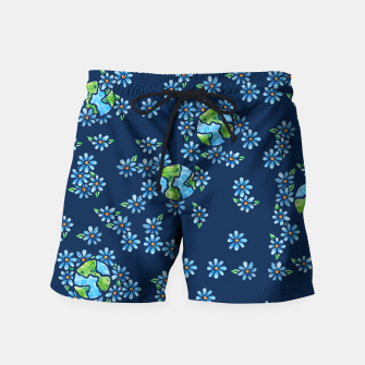 Thumbnail image of Earth Day  Swim Shorts, Live Heroes