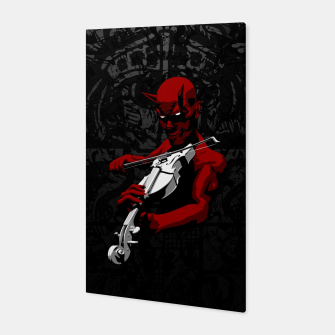 Thumbnail image of Devil's Trill Canvas, Live Heroes