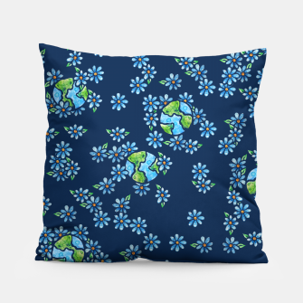 Thumbnail image of Earth Day  Pillow, Live Heroes