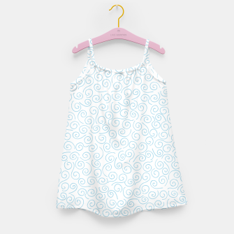 Thumbnail image of Swirls and Curls Girl's Dress, Live Heroes