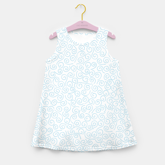 Thumbnail image of Swirls and Curls Girl's Summer Dress, Live Heroes