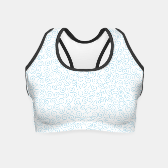 Thumbnail image of Swirls and Curls Crop Top, Live Heroes