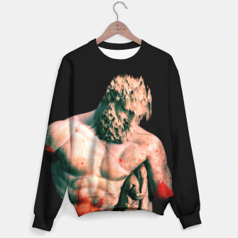 Thumbnail image of bloody statue Sweater, Live Heroes