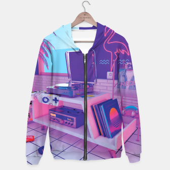 Thumbnail image of spinningwave Hoodie, Live Heroes