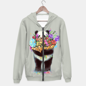 Thumbnail image of Flowers For You Hoodie, Live Heroes