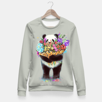 Thumbnail image of Flowers For You Fitted Waist Sweater, Live Heroes