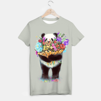 Thumbnail image of Flowers For You T-shirt, Live Heroes