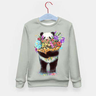 Thumbnail image of Flowers For You Kid's Sweater, Live Heroes