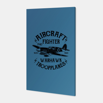 Thumbnail image of Aircraft Fighter Hawk Canvas, Live Heroes