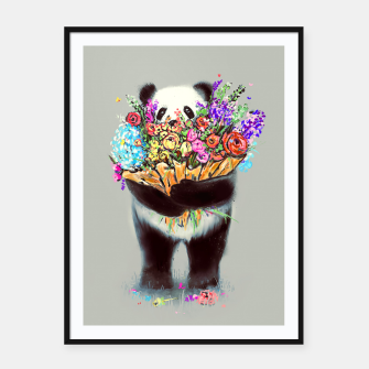 Thumbnail image of Flowers For You Framed poster, Live Heroes