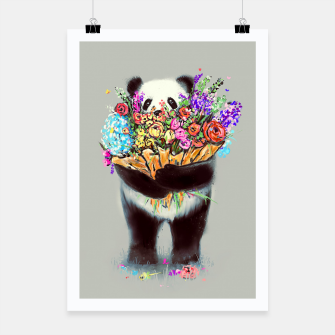 Thumbnail image of Flowers For You Poster, Live Heroes