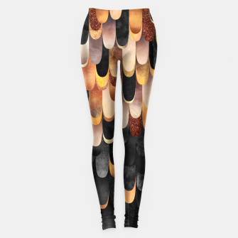 Miniature de image de Feathered - Copper And Black Leggings, Live Heroes