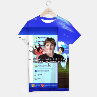 Thumbnail image of done goofed T-shirt, Live Heroes