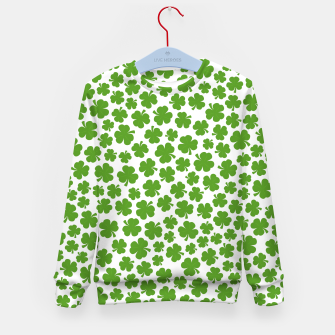 Thumbnail image of Shamrockadelic Kid's Sweater, Live Heroes