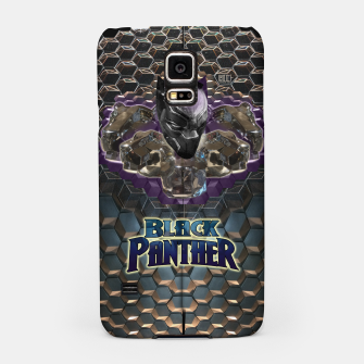 Miniatur The Black Panther Samsung Case, Live Heroes
