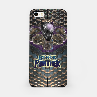 Miniatur The Black Panther iPhone Case, Live Heroes