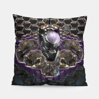 Miniatur The Black Panther Pillow, Live Heroes