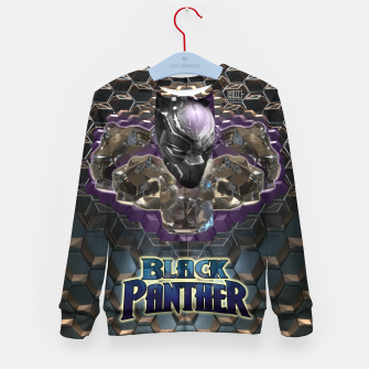 Miniatur The Black Panther Kid's Sweater, Live Heroes