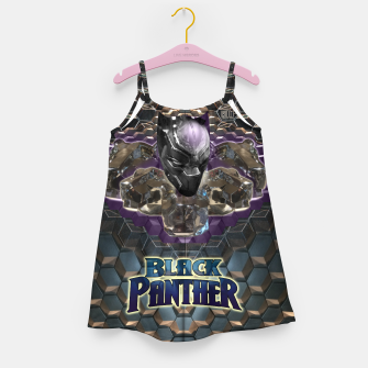 Miniatur The Black Panther Girl's Dress, Live Heroes