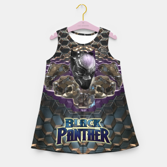Miniatur The Black Panther Girl's Summer Dress, Live Heroes