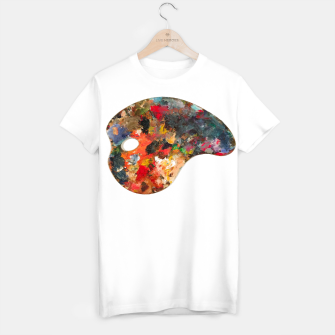 Thumbnail image of Painting_Palette_T-shirt_White, Live Heroes