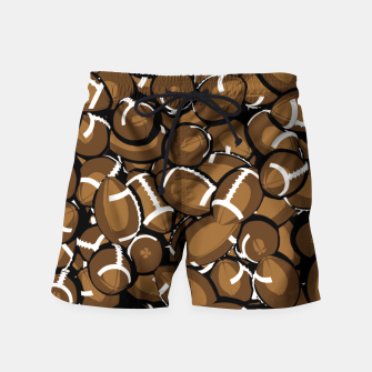 Thumbnail image of Football Season Swim Shorts, Live Heroes