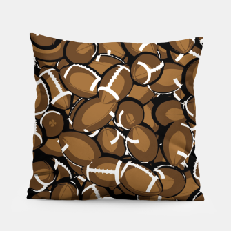 Thumbnail image of Football Season Pillow, Live Heroes