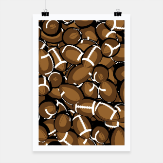Thumbnail image of Football Season Poster, Live Heroes