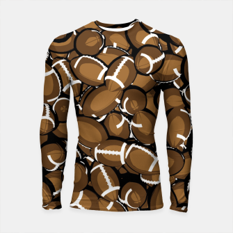 Thumbnail image of Football Season Longsleeve Rashguard , Live Heroes