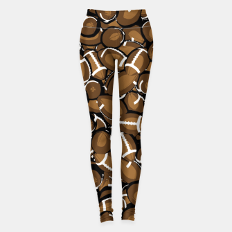 Thumbnail image of Football Season Leggings, Live Heroes