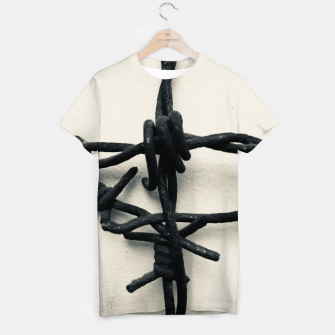 Thumbnail image of Barbed_Wire_T-shirt, Live Heroes