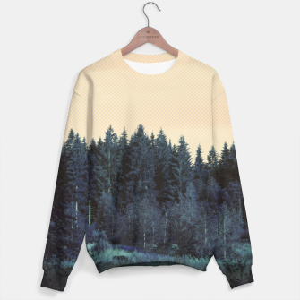 Miniatur Blue forest Sweater, Live Heroes