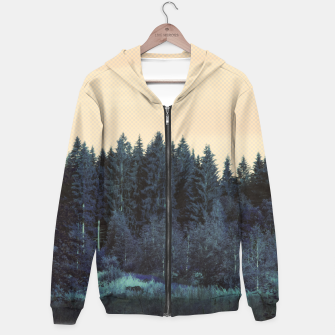 Miniatur Blue forest Hoodie, Live Heroes