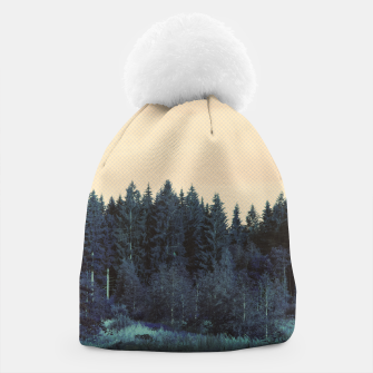 Thumbnail image of Blue forest Beanie, Live Heroes
