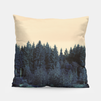 Thumbnail image of Blue forest Pillow, Live Heroes