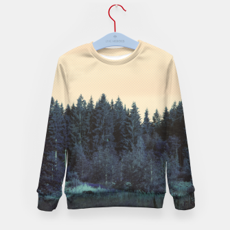 Thumbnail image of Blue forest Kid's Sweater, Live Heroes