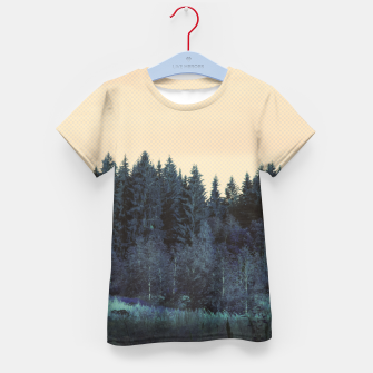 Thumbnail image of Blue forest Kid's T-shirt, Live Heroes