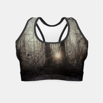 Thumbnail image of sunset in Rajsko Crop Top, Live Heroes
